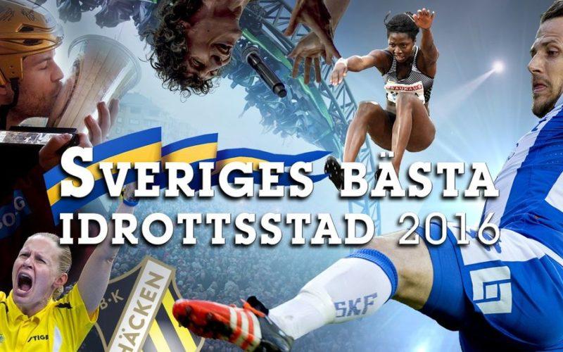 TaTK bidrar till 17:e platsen på SVTs Bästa Idrottsstad 2016