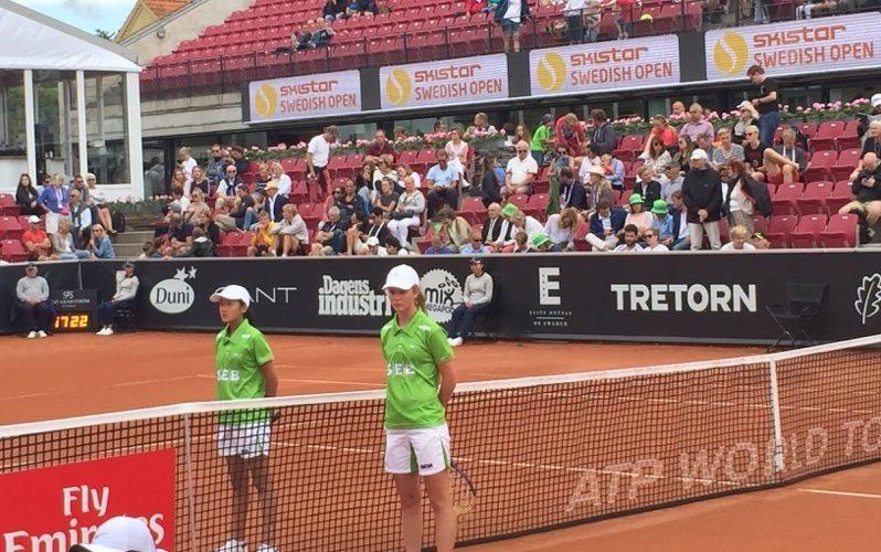 TaTKare på centercourten i Swedish Open