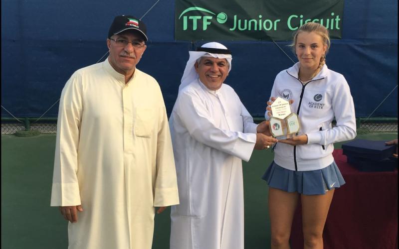 Vinst i Kuwait ITF Junior 18 Tournament