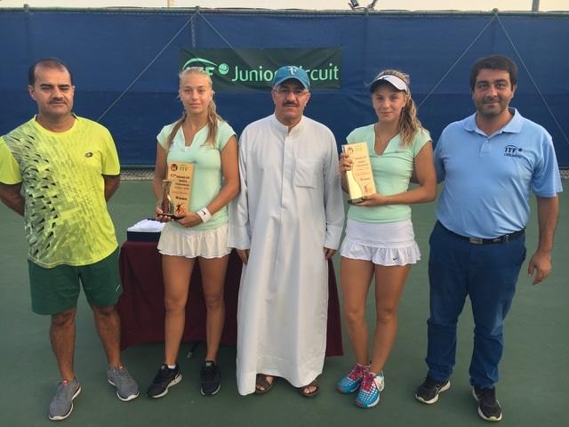 Vinster i Kuwait ITF Junior 18 Tournament