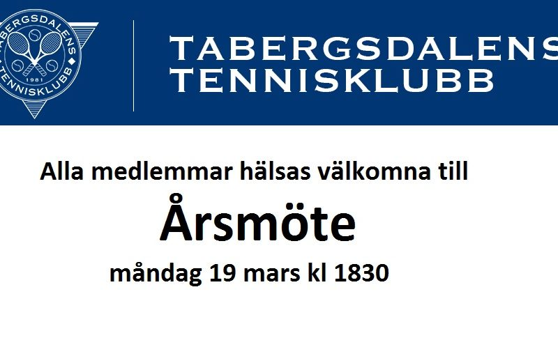 TaTKs Årsmöte 2018