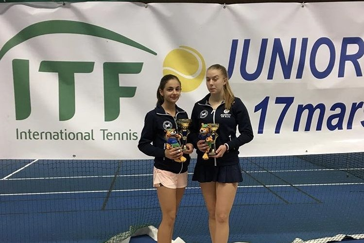 Vinst och final i ITF High Coast Kramfors Junior Challenge