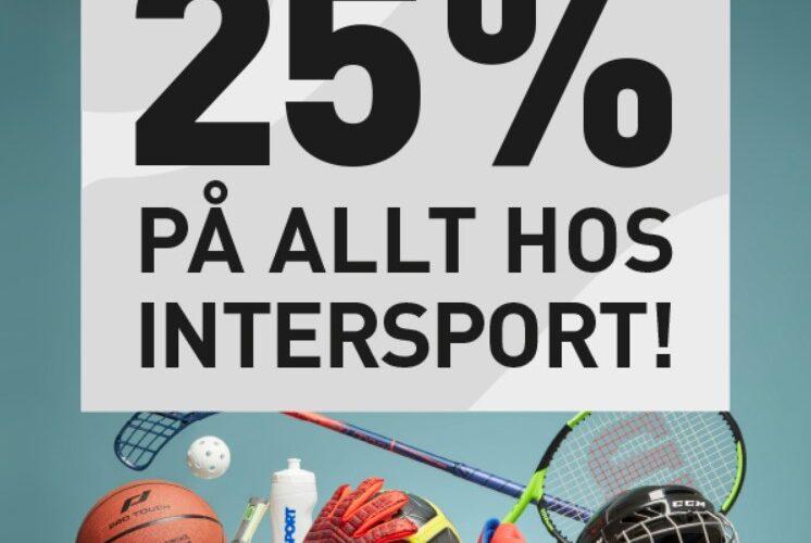 Tips – Föreningsdagar på Intersport…!