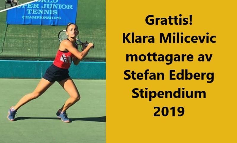 Stefan Edberg delade ut stipendium…!