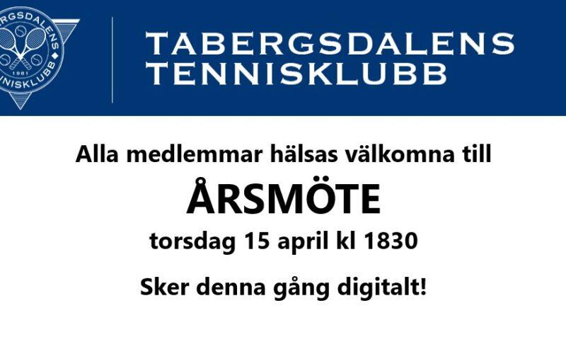 TaTKs Årsmöte 2021…!